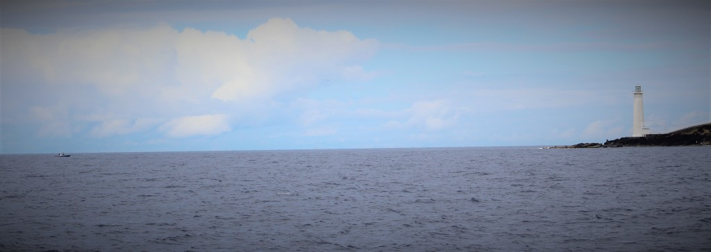 Real fisherman - off the coast of Guadeloupe